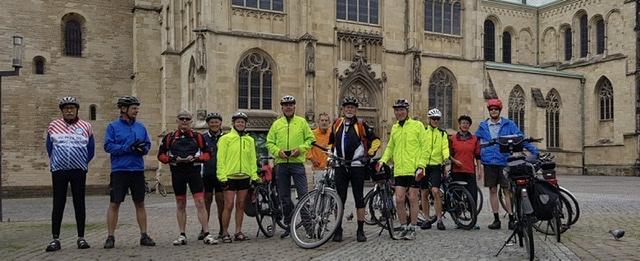 Vor dem Dom in Münster